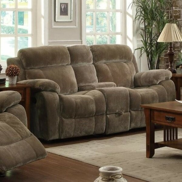 Home & Outdoor Cimarr Velvet Reclining 78