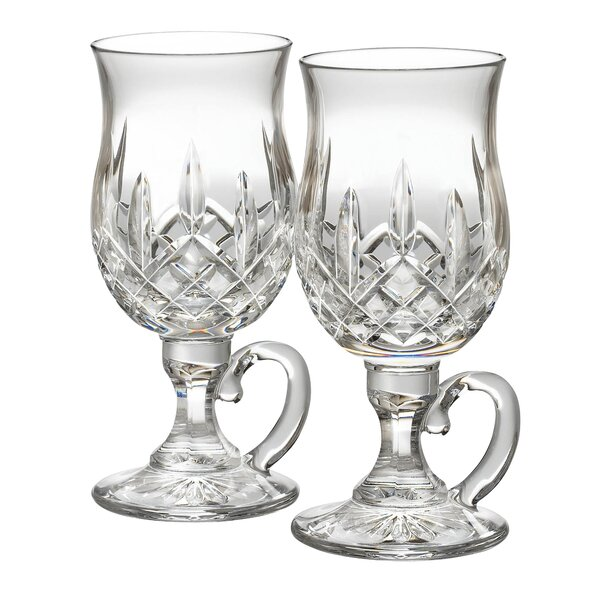 Lismore Irish 8 oz. Crystal Snifter Glass (Set of 2) by Waterford