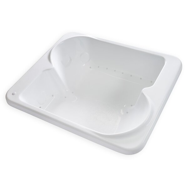 Hygienic Air Massage 72 x 60  Bathtub by Carver Tubs