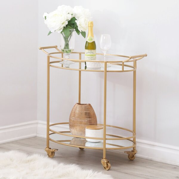 Herald Bar Cart by Willa Arlo Interiors Willa Arlo Interiors