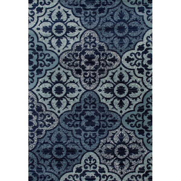 Jack Navy Area Rug by Charlton Home