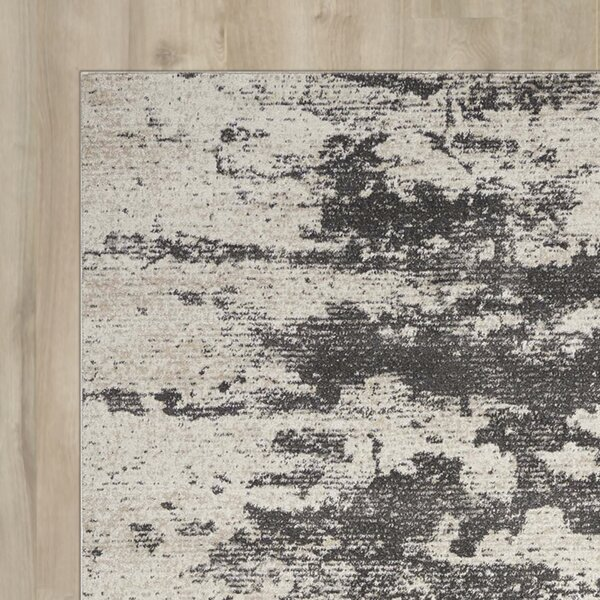 Mana Ivory Gray Area Rug by Williston Forge