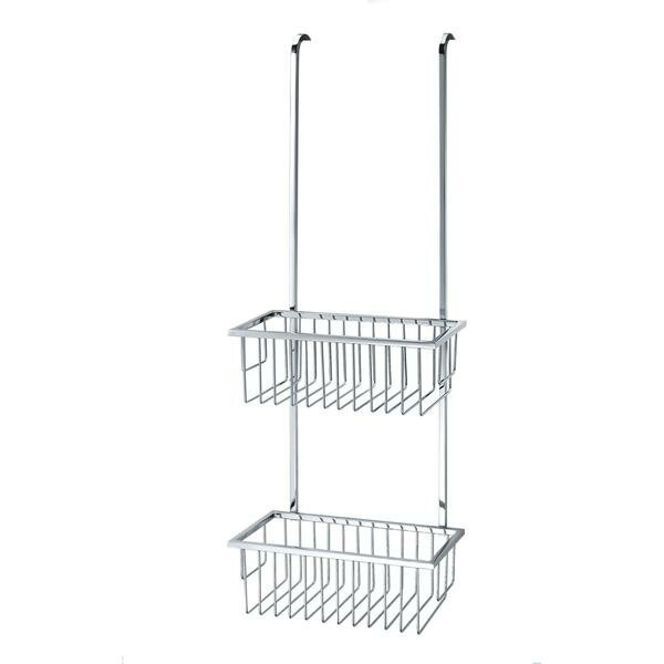 Briese Over The Door Shower Caddy Basket by Rebrilliant
