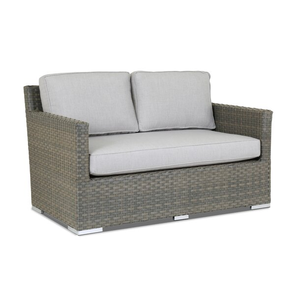 Majorca Loveseat with Sunbrella Cushions by Sunset West