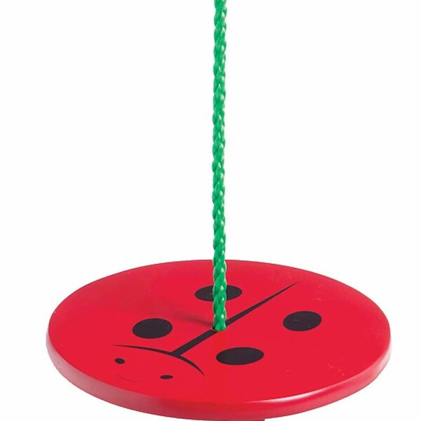 Ladybug Nature Swing with Classic Seat by Magic Cabin