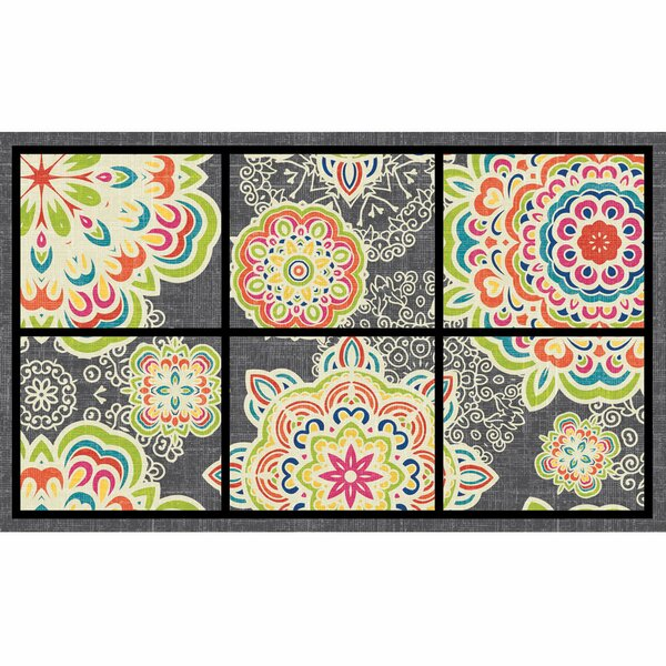Elfrieda Bohemian Arabesque Doormat by Red Barrel Studio