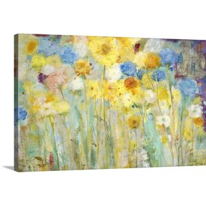 'Breezy' by Jill Martin Painting Print on Wrapped Canvas by Great Big Canvas