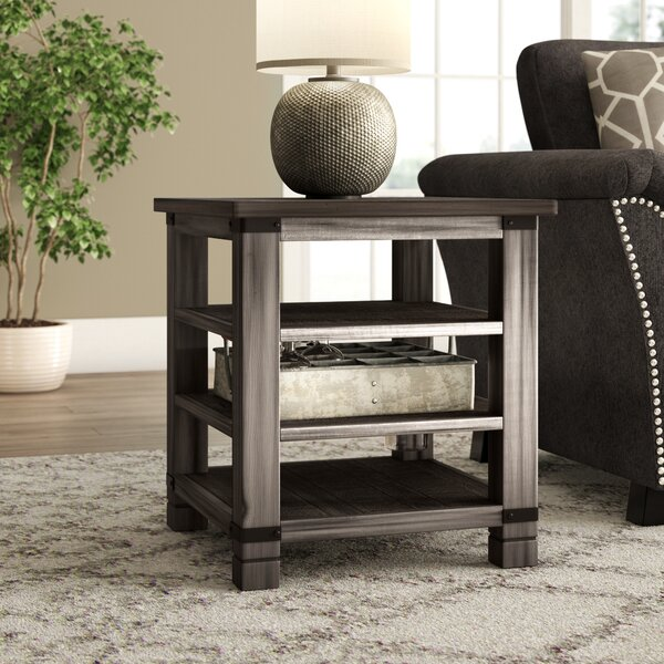 Vilma Wood End Table by Birch Lane™ Heritage
