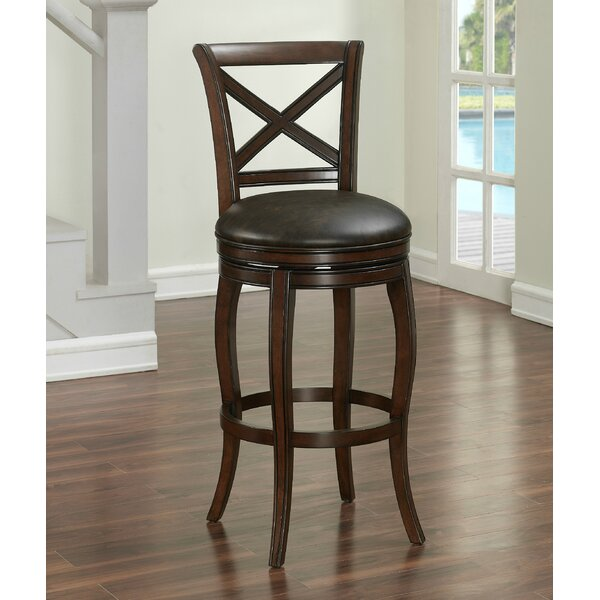 Bulfinch 30 Swivel Bar Stool by Darby Home Co