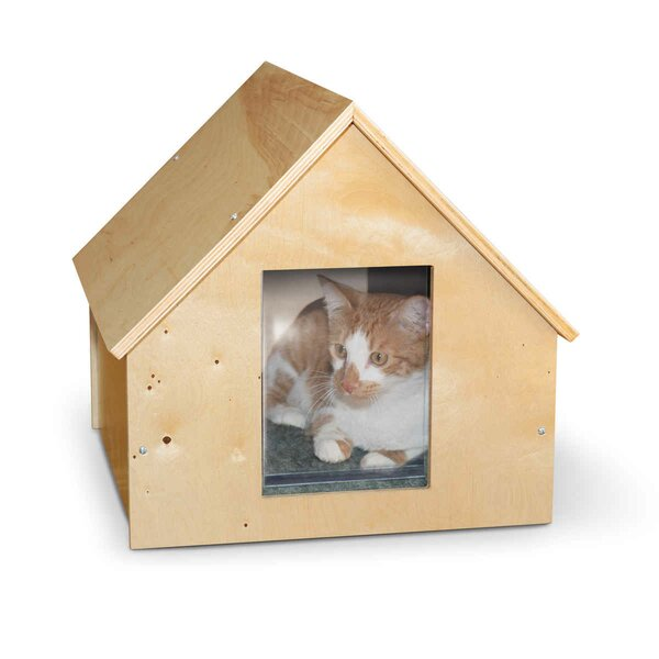 Birdwood Manor Unheated Cat House by K&H Manufacturing
