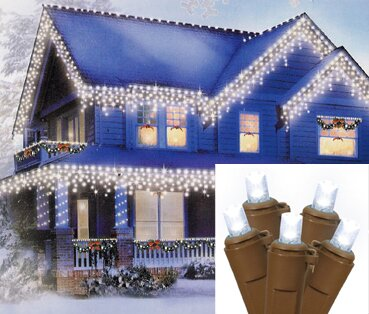 70 Wide Angle Icicle Christmas Light by Vickerman
