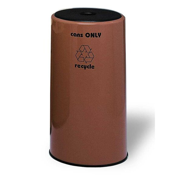 Seashore 1 Stream 21 Gallon Recycling Bin by Allied Molded Products