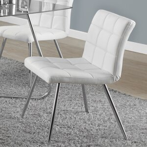 Amber Upholstered Dining Chair (Set of 2) by Latitude Run