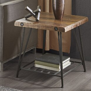 Great Price Cesare End Table By 17 Stories