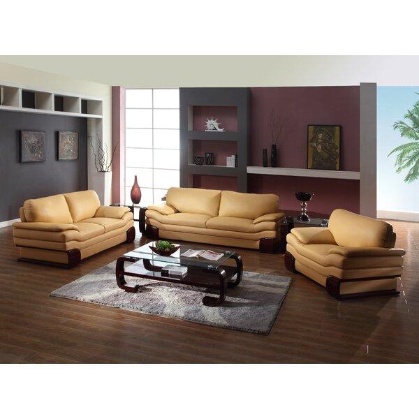 Trower Upholstered 3 Piece Living Room Set by Red Barrel Studio