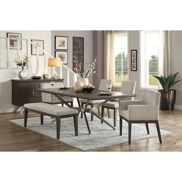 Penelope 6 Piece Dining Set by Foundry Select