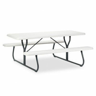 Indestructable Too 1200 Series Resin Picnic Table by Iceberg Enterprises