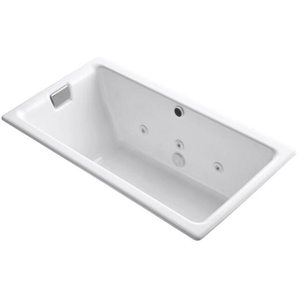 Tea-For-Two 66 x 36 Whirlpool Bathtub by Kohler
