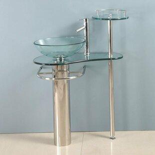 Affordable Yuqi 29 Single Pedestal Bathroom Vanity Set ByOrren Ellis