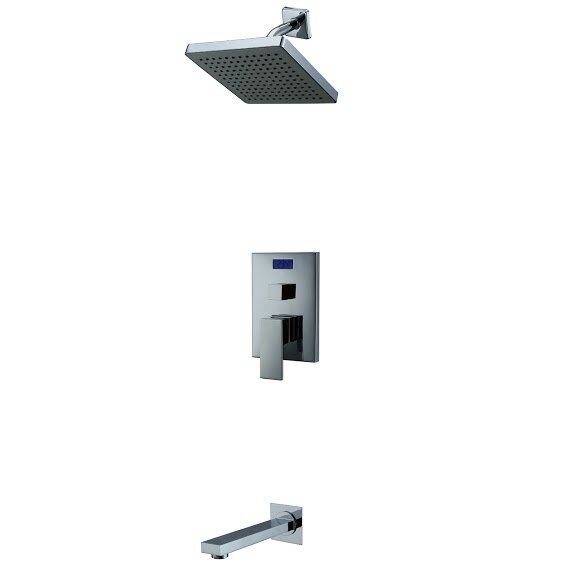 Single Handle Wall Mount Tub/Shower Faucet by Sumerain International Group