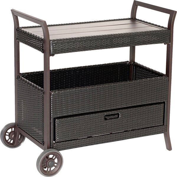 Duell Bar Serving Cart by Red Barrel Studio