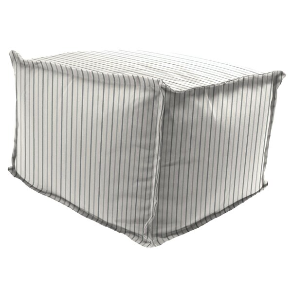 Basso Outdoor Ottoman by Gracie Oaks