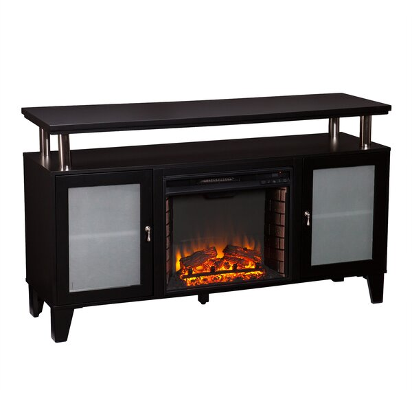 Borovany 60 TV Stand with Fireplace by Latitude Run
