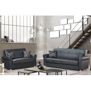 Eka 2 Piece Sleeper Living Room Set by Red Barrel Studio®