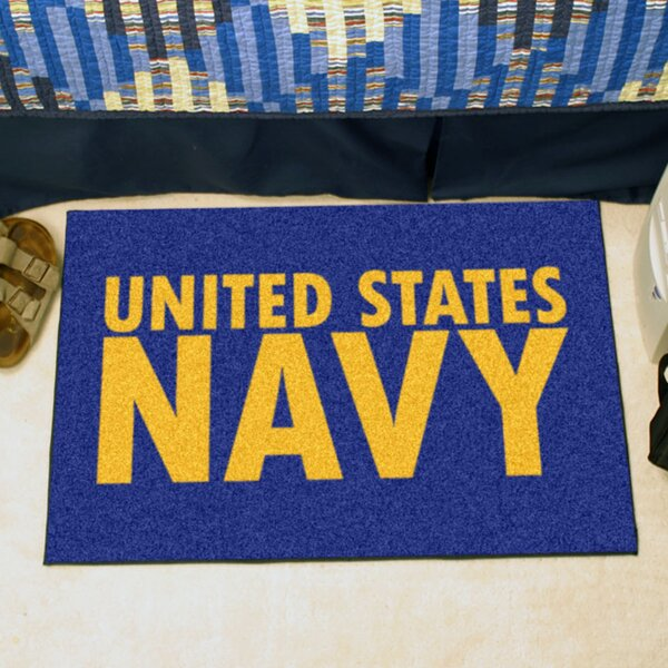 MIL U.S. Navy Doormat by FANMATS