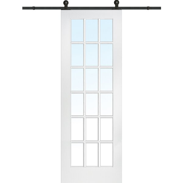 MDF 1-Panel Primed Interior Barn Door by Verona Ho