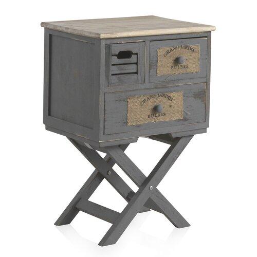 Nachttisch Brecon Laurel Foundry | Schlafzimmer > Nachttische | Holz | Laurel Foundry
