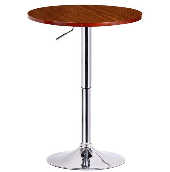Runda Adjustable Height Pub Table by Boraam Industries Inc