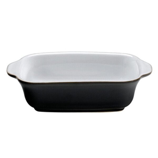 Jet 18 Oz. Small Oblong Dish by Denby