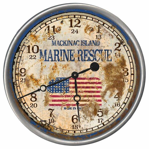 Boaz Marine Rescue Wall Clock by Williston Forge