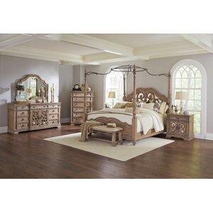 cal king bedroom sets. George Canopy Configurable Bedroom Set California King Sets You ll Love  Wayfair