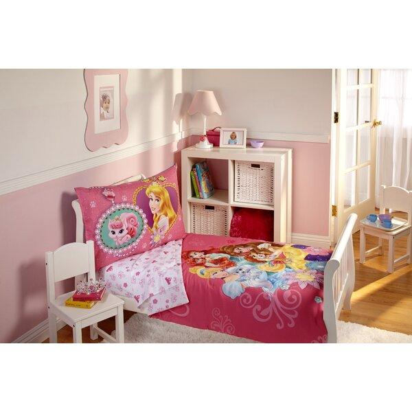 Palace Pet 4 Piece Toddler Bedding Set by Disney
