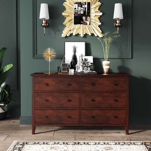 Wachapreague 6 Drawer Dresser by Three Posts
