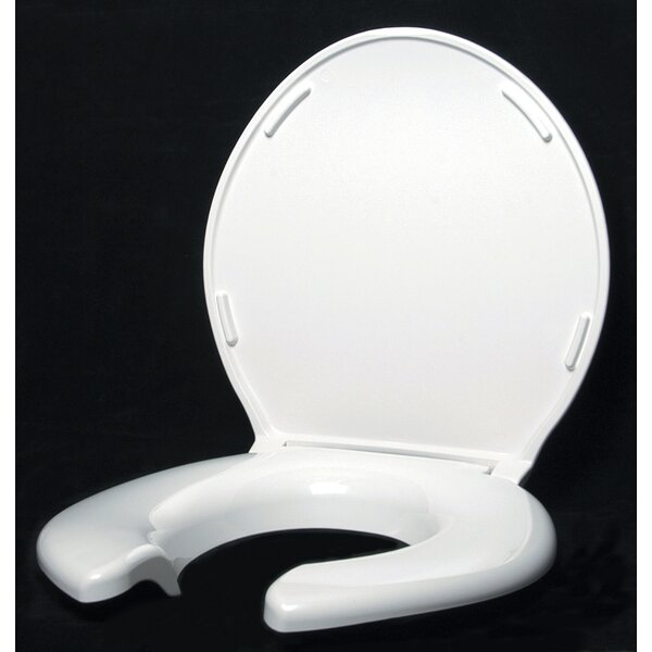 Open Front Round Toilet Seat by Big John