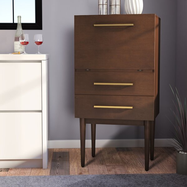 Gardner Bar with Wine Storage by Langley Street