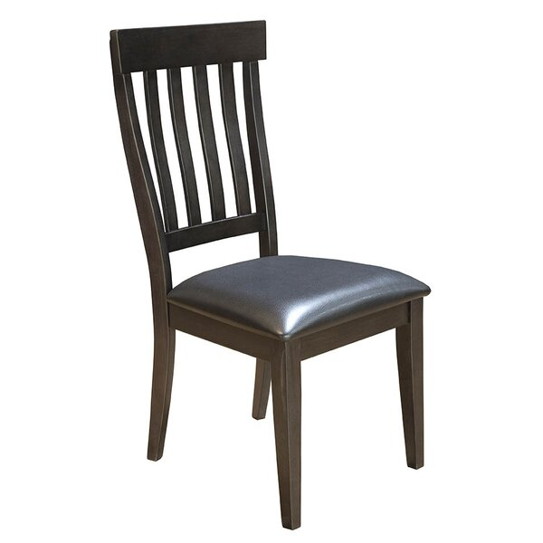 Alder Slatback Upholstered Side Chair by Loon Peak