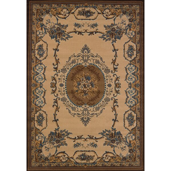 Cherelle Cream Area Rug by World Menagerie