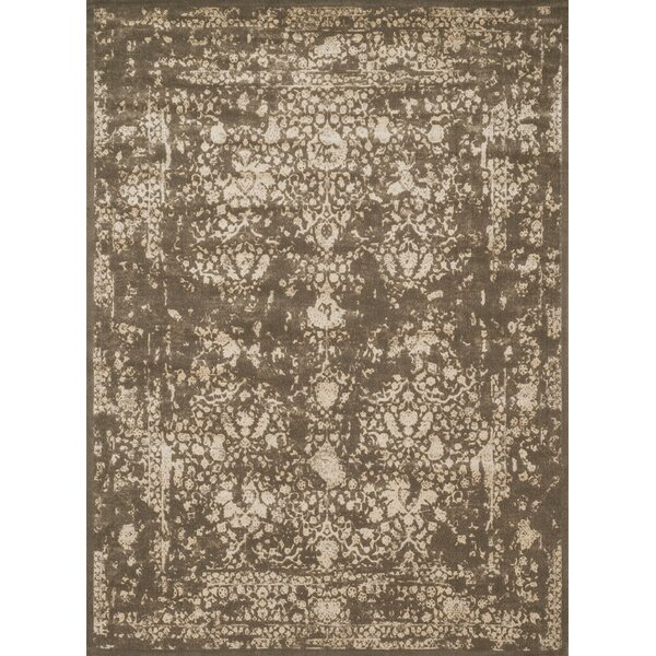 Durdham Park Dark Taupe/Ivory Area Rug by Darby Home Co