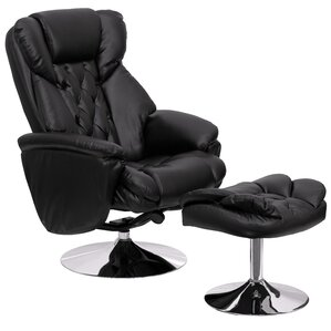 Beno Transitional Leather Club Recline..