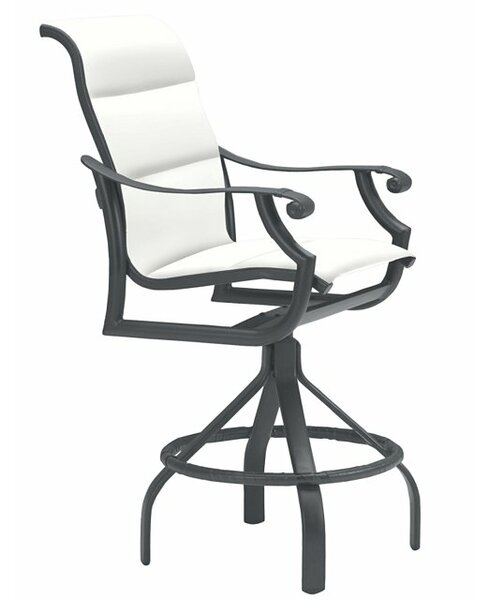 Montreux 27 Patio Bar Stool with Cushion by Tropitone