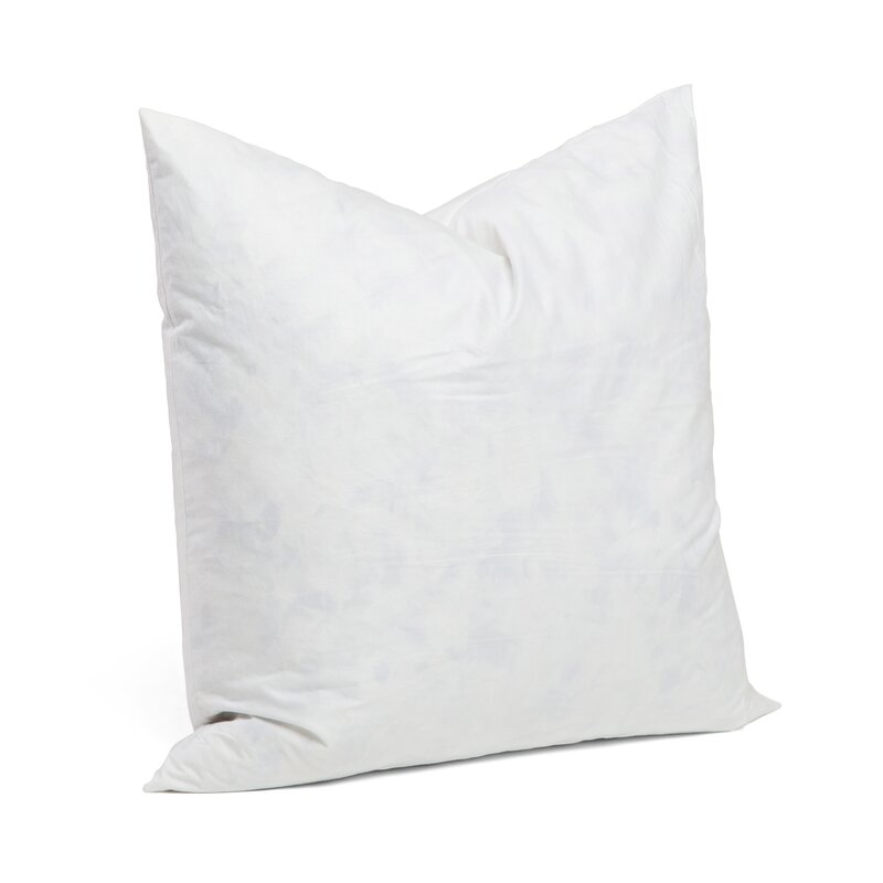 Alwyn Home 95% Feather 5% Down Square Pillow Insert & Reviews Wayfair.ca