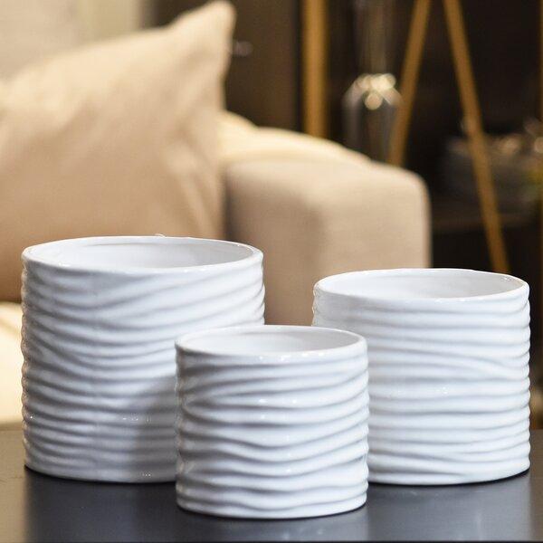 3-Piece Pot Set by Urban Trends