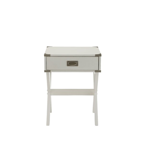 Safi End Table by Charlton Home