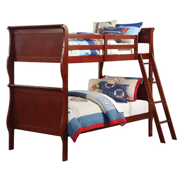Lunada Twin Over Twin Bunk Bed by Harriet Bee