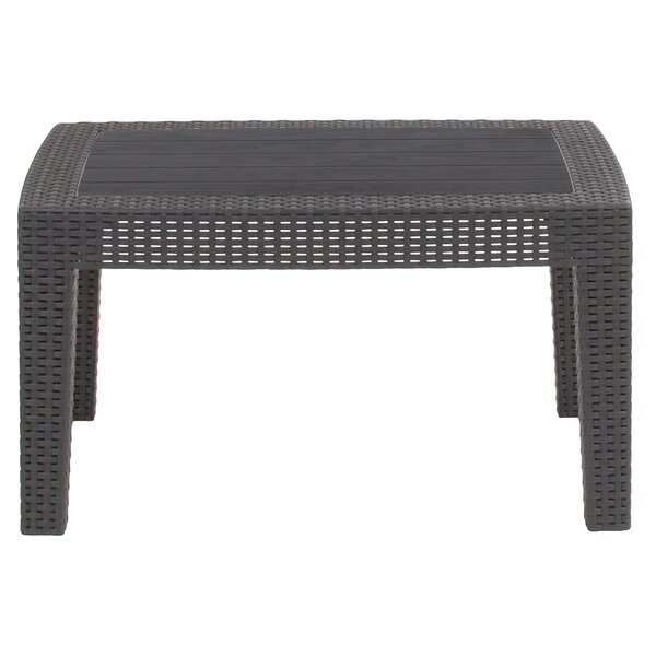 Stockwell Rattan Coffee Table by Breakwater Bay