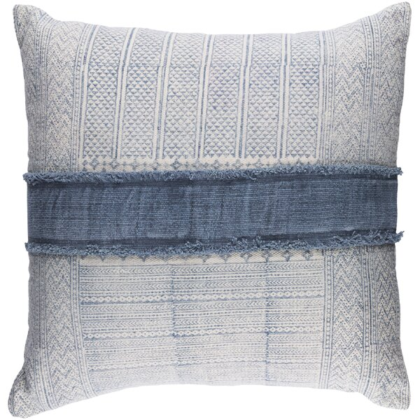 Friedman Traditional Cotton Throw Pillow By Mistana.